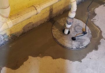 Basement Waterproofing in Troy MI