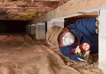 Crawl Space Repair in Huntington Woods MI