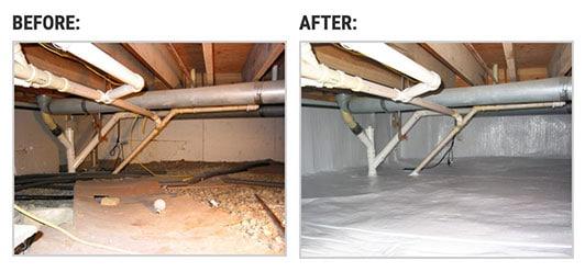 Crawl Space Repair in Pontiac MI